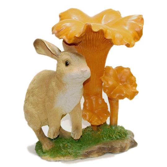 гриб лисичка с зайцем
