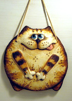 панно кот