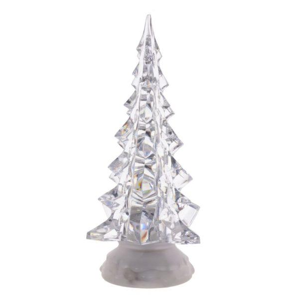 новогодняя елка сувенир прозрачная