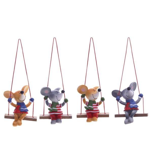 мышки на качелях