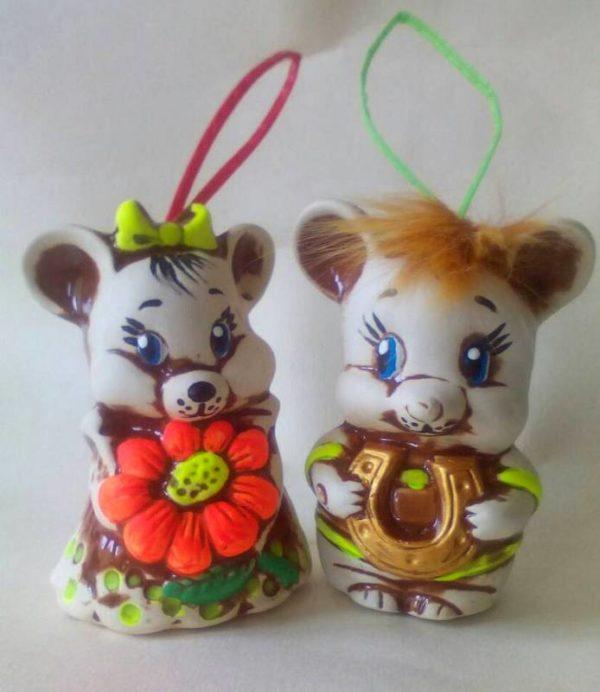 колокольчики мышата